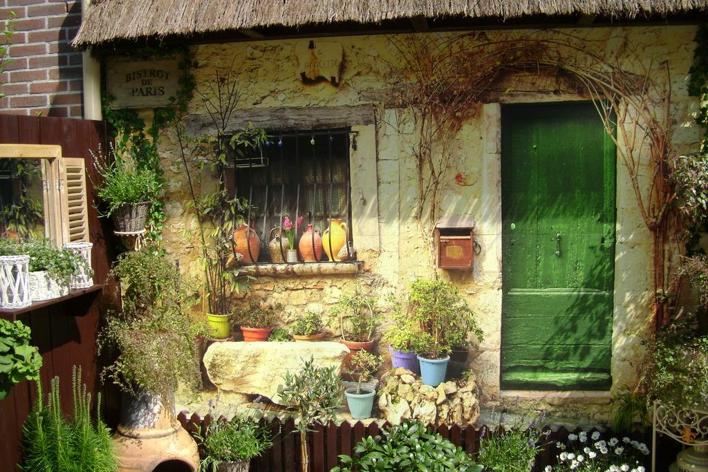 Voorbeeldtuinen teun 39 s tuinposters - Hek begroeide ...
