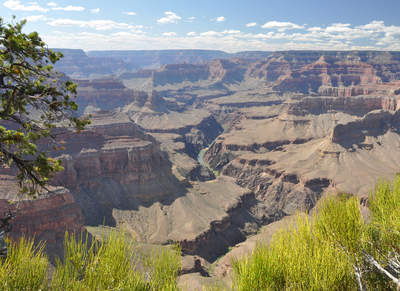 Tuinposter van Grand Canyon in de zon
