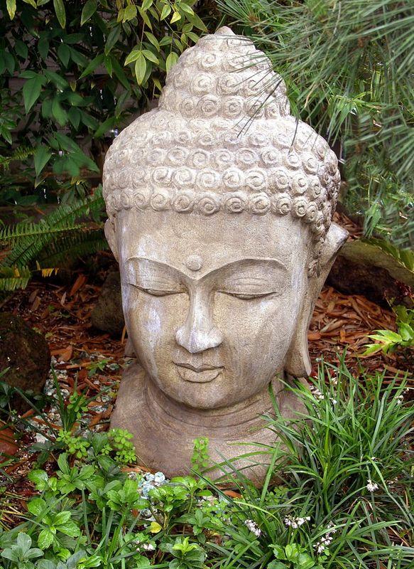 Boeddha Beelden Voor De Tuin.Tuinposter Stenen Buddha Boeddha Beeld Teun S Tuinposters