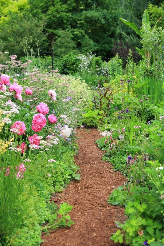 Tuinposter 39 wilde tuin 39 teun 39 s tuinposters for Modele de jardin anglais
